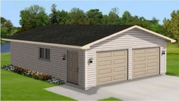 Gable Garages: One & Two Door
